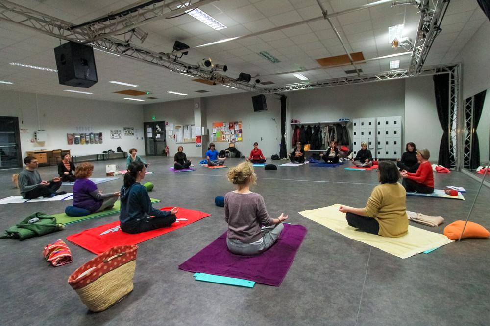 Scéance de Hatha Yoga